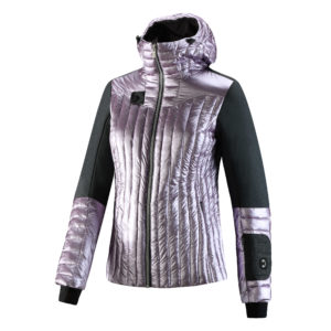 Mantra is a wind & waterproof down jacket, features a chic, sporty look.