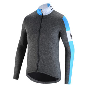 High-stretch technical jersey features a dynamic, sporty look