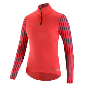 Stretchy thermal technical jersey