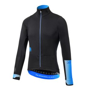 Giacca in Polartec® Power Wool® e Windbloc®