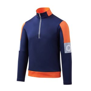 The Team high-stretch technical jersey features a dynamic, sporty look.