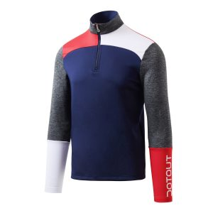 Oxygen is a stretchy thermal jersey